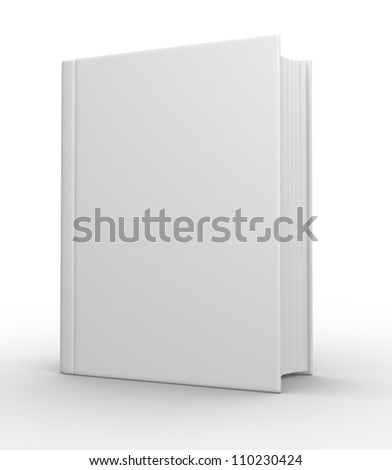 Big book. 3d render
