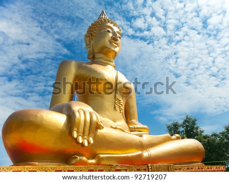 Big Buddha. Pattaya, Thailand.