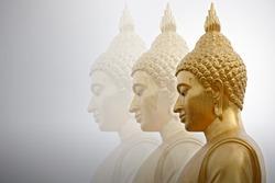 Big buddha statue  bangkok thailand.