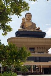 Big Buddha statue in Fo Guang Shan, Kaohsiung, Taiwan