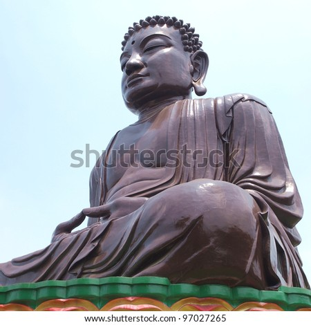 big Buddhist statue