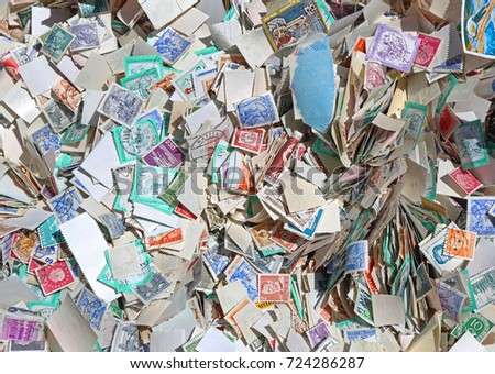 Big Bunch of Used Unsorted Postage Stamps #724286287