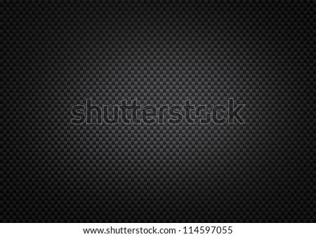 Big Carbon Fiber Background - stock photo