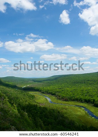 Big Carp River at Porcupine Mountains State Park in Michigans upper peninsula