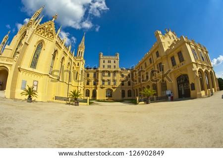 big castle of Lichtenstein family