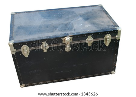 Dust Covered Chest Chest Covered With Dust