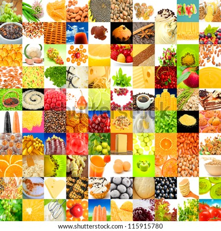 Big Collection of Food (Set of 100 Images)