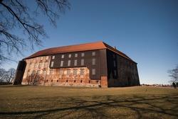 Big Danish Castle. Koldinghus in Kolding City, Denmark.