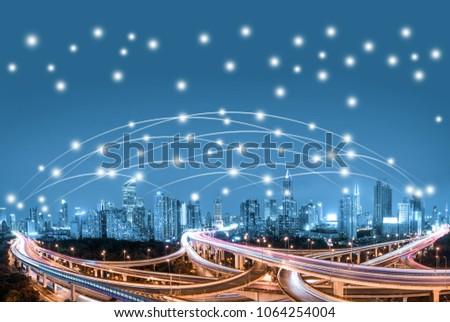 big data and city communication #1064254004