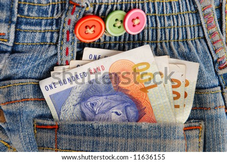 Pictures Of Money Notes. stock photo : Big deal: Notes