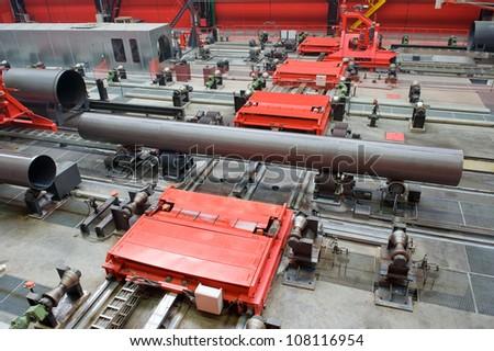 Big-diameter pipes for natural gas