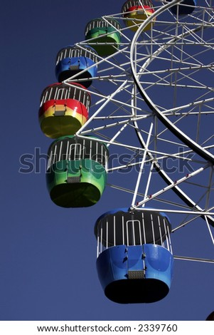 Big Ferris Wheel At Luna Park, Sydney, Australia Stock Photo ...