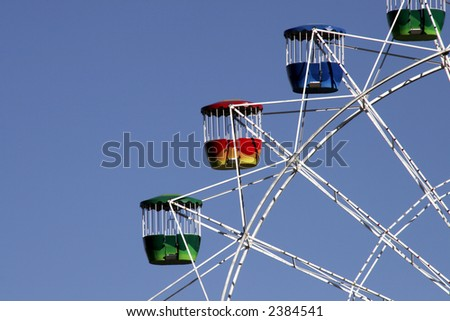 Big Ferris Wheel At Luna Park, Sydney, Australia