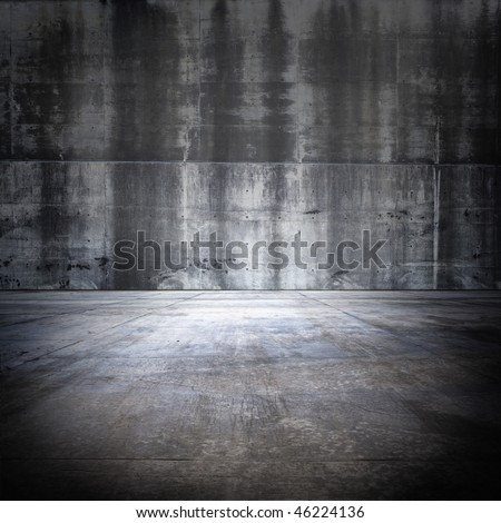 Big Grungy Concrete Room