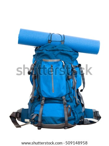 big hiking backpack