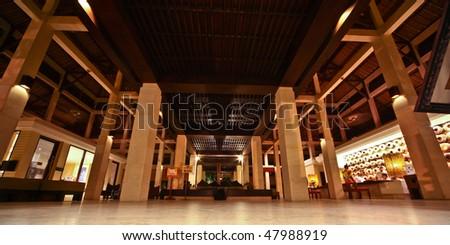 big hotel reception