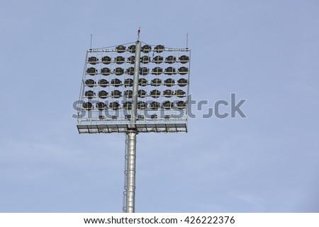 big light in stadium #426222376