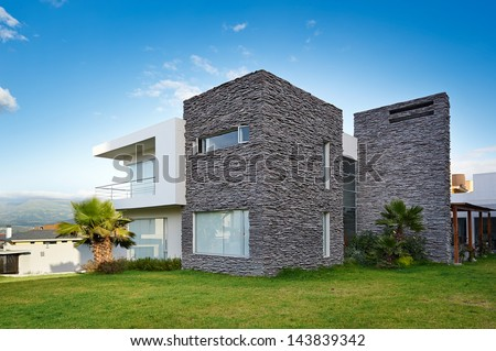 Big modern house #143839342