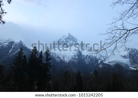 Big mountain in France #1015242205