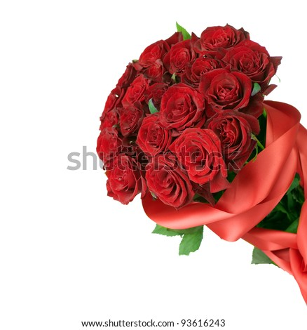 Big Red Roses Bouquet