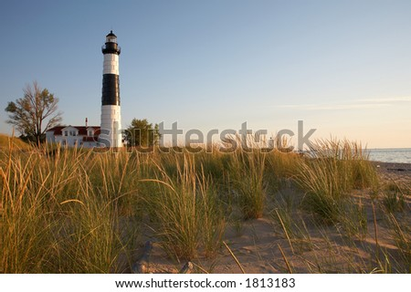 Big Sable Point Lighthouse, Lake Michigan