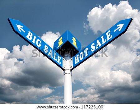 Big Sale and Hot Sale Directional Road Signs