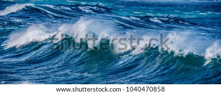 big sea wave #1040470858