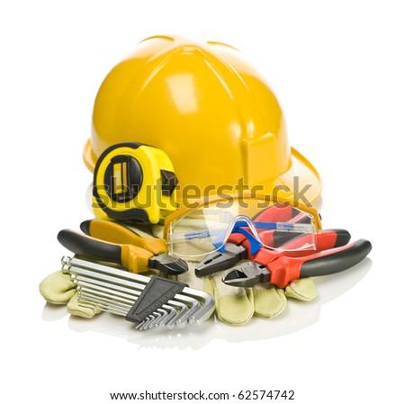 big set of building tools