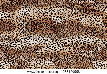 big size leopard pattern