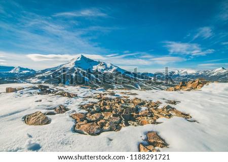 Big Sky Montana Mountaintops