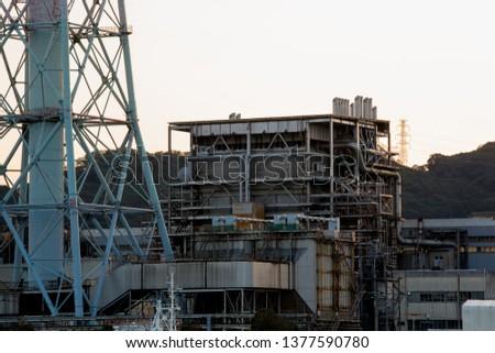 Big steel tower  #1377590780