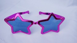 Big sunglasses | Party props for pool party | giant goggles all colourful | Pink Giant Shades.