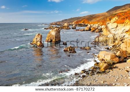 Big Sur, Pacific Ocean coast