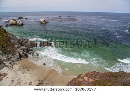 Big Sur - rocky California coast