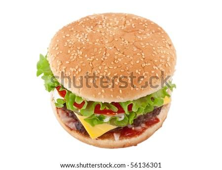 big tasty cheeseburger