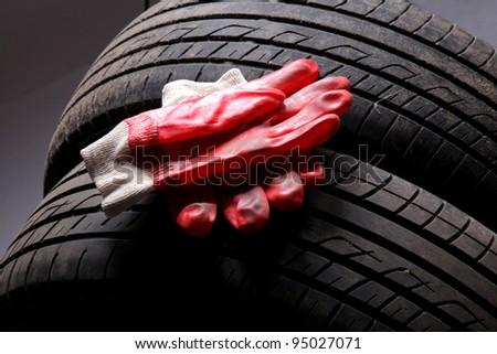 big tire