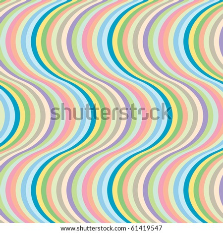 big wave stripes, abstract art illustration; for vector format please visit my gallery