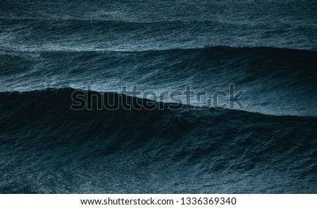 big waves on the ocean #1336369340