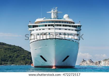 big white ship