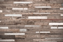 big wood plank wall / wood wall background