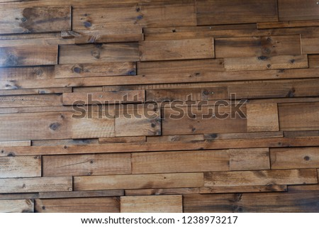 big wood plank wall , wood wall background #1238973217