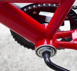 Bike frame triangle