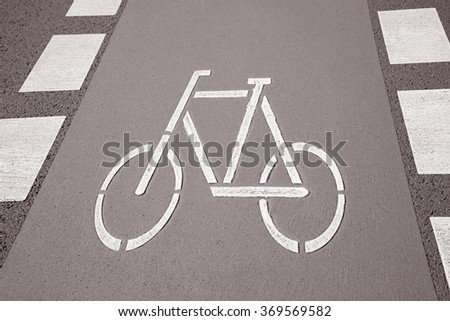 Free Photos Bike Lane Symbol Bonn Germany In Black And White Sepia
