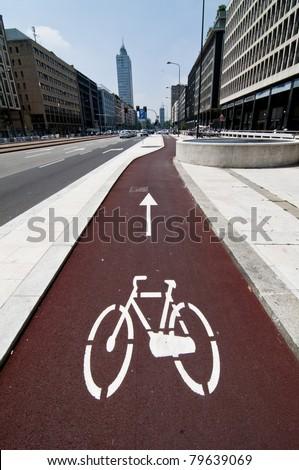 bike path in town