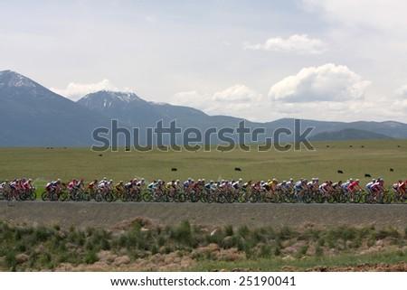 Bike race in Eastern Oregon.