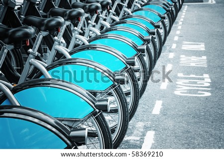 Bikes for rent in Lodnon