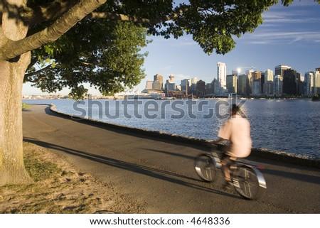 Biking in City Park