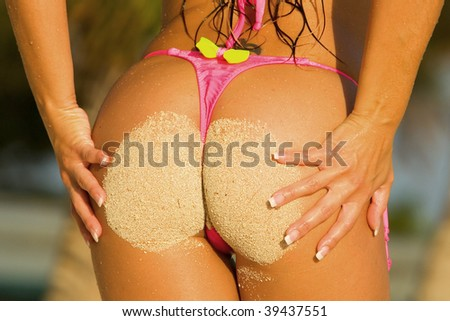 stock photo : Bikini Buns