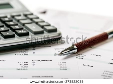 Bill, Bank Account, Bank Statement.