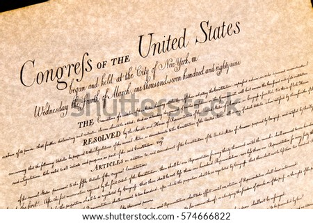 Bill of Rights United States of America